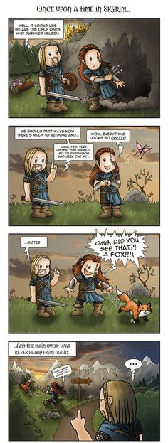skyrim humour | Skyrim\ / funny pictures & best jokes: comics, images, video, humor ...