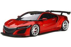 HONDA NSX LB-WORKS CANDY RED WITH CARBON TOP 1/18 MODEL CAR GT SPIRIT GT245  | eBay