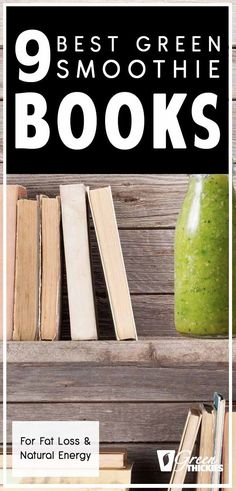 9 Best Green Smoothie Books: Recipes, Detox & Cleanse - Assorted Topics Anything Goes - Today I'm sharing the best green smoothie books for fat loss and natural energy. I am obsesse - Smoothie Recipe Book, Easy Green Smoothie Recipes, Detox Smoothie Recipes, Green Detox Smoothie, Healthy Green Smoothies, Apple Smoothies, Smoothie Diet, Nutribullet Recipes, Vegan Facts