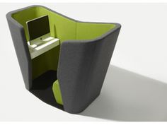In the days of hot desking - this would be a pretty cool space to call your office: Fletcher Systems - Realm Av Pod