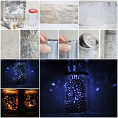 Cool DIY Ideas for Fun and Easy Crafts - Star Gazing Constellation Jar Makes a Fun Weekend Project Idea for Older Kids and Teens - DIY Moon Pendant for Easy DIY Lighting in Teens Rooms - Dip Dyed String Wall Hanging - DIY Mini Easel Makes Fun DIY Room Decor Idea - Awesome Pinterest DIYs that Are Not Impossible To Make - Creative Do It Yourself Craft Projects for Adults, Teens and Tweens. http://diyprojectsforteens.com/fun-crafts-pinterest