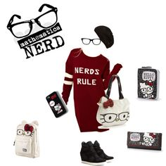 """""""Nerds Rule"""" by sawilson98 on Polyvore"""
