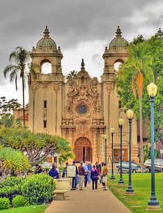 Casa Del Prado Theater - Balboa Park by Michael in San Diego, California, via Flickr