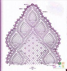 pineapple stitch scarf | ... uploads/2013/06/crochet-pineapple-scarf-craft-craft-20a3bf144d3b3.jpg