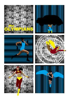 The Olympians by cg