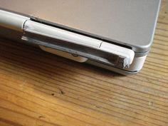 Broken Mac laptop