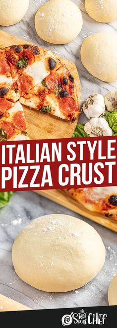 You can now achieve the perfect Italian-style Pizza Dough at home with our complete guide that includes simple tips and tricks, and a full video tutorial. Chef Recipes, Pizza Recipes, Italian Recipes, Italian Dishes, Cooking Recipes, Bread Recipes, Crockpot Recipes, Keto Recipes, Chicken Recipes