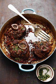 SAVEUR 100: Rick Moonens Osso Buco (Braised Veal Shanks) Recipe - Saveur.com