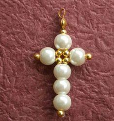Dangle Earrings Handmade Jewellery DIY Earrings Clip On Bead Jewellery, Beaded Jewelry, Beaded Bracelets, Jewelery, Beaded Necklace, Beaded Cross, Cross Jewelry, Homemade Jewelry, Homemade Necklaces
