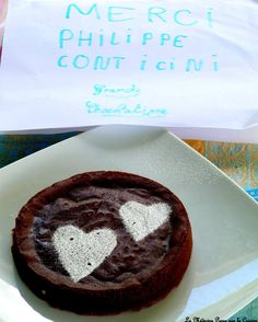 Fondant au chocolat de Philippe Conticini