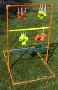 Bolo Toss, Ladder Golf, Hillbilly Golf, Backyard Games, DIY We have a store Bought version. Fun to play for ALL ages!