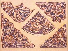 Craftaid, Template, Leather Pattern, Leathercraft Pattern, Leathercraft Supplies, Sheridan Corners