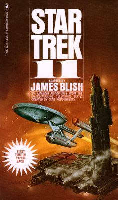 In 1967 Bantam Books published the first ever Star Trek book, Star Trek , by James Blish , an anthology of TOS episode adaptations. Cool Books, Sci Fi Books, Star Trek Books, Science Fiction Books, Pulp Fiction, Star Trek Ships, Star Trek Universe, Vintage Book Covers, Star Trek