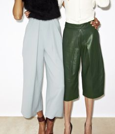 Culottes - workwear for summer.