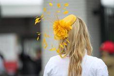 Hats and fascinators are all the rage at the Kentucky Derby!