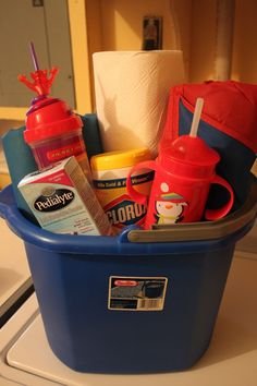 Always-Keep-Handy Dooms Day Stomach Bug Kit   *Thanks Kristen K. for the great blog post!