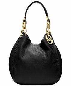 Michael Kors Handbag, Fulton Medium Shoulder Bag | This might be it | Web ID
