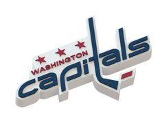 Washington Capitals ice hockey team logo #NHL   #logo   #3Dmodel   #icehockey   #WashingtonCapitals
