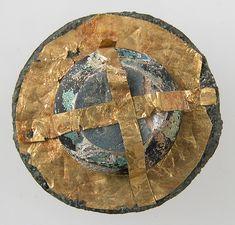 Disk Brooch. Frankish, 500-700
