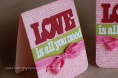 valentines or anniversary or just because...  from Kerry's Craft Blog