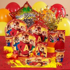 Alvin and the Chipmunks Birthday Party Supplies