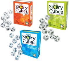 Best car games for kids: Rory's Story Cubes help get the creative juices flowing for all ages