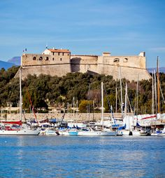 Antibes harbor with yachts and Fort Carre, France   17 Reasons why Magnifique France is the most Visited Country in the World