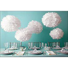 Love of all things pom pom! Really it's that simple! The pom pom is decoration, fun, and some would say simply a fluffy ball of joy! Pom poms are equal opportunity too! Don't worry if you can't knit or crochet, you can always make a pom pom! Pom Pom Decorations, Party Decoration, Wedding Decorations, Wedding Favors, Diy Wedding, Christening Decorations, Craft Decorations, Party Wedding, Wedding Events
