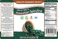 Removes Heavy metals and pathogen toxins from the body Spirulina, Healer, Natural Healing, Heavy Metal, Hawaiian, How To Remove, Heavy Metal Music