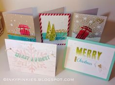 The sketch this week at Hand Stamped Sentiments gave me the opportunity to play with some new goodies, available August 29th, from the Holid...