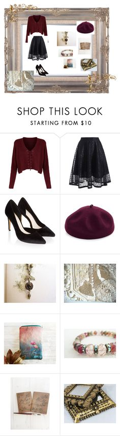 """""""French Chic..."""" by ruegenevieve ❤ liked on Polyvore featuring Monsoon, Kathy Jeanne and Cadeau"""