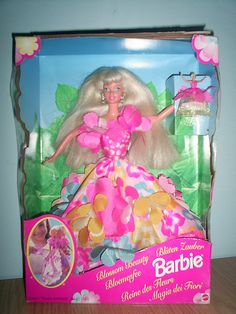 Blossom Beauty Barbie (1990's). This was probably my favorite barbie doll I had as a kid.