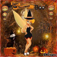 tinkerbell happy halloween images | happy halloween tinkerbell Fotografía #126347859 | Blingee.com
