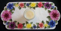 Flowers done by Kelly Hurtado Mora, The Woolen Penny