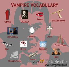 Vampire Vocabulary
