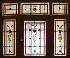 Stained glass windows for modern homes