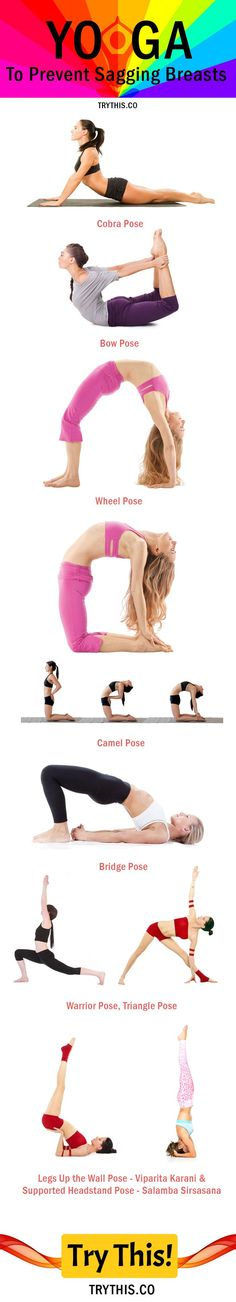 Yoga Poses to Prevent Sagging Breasts