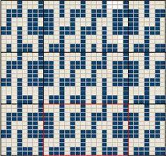 mosaic knitting charts - Google zoeken