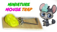 Diy miniature dollhouse kitchen sink diy lps crafts stuff how to make a lps mouse trap or doll mouse trap things you will need wooden peg glue craft foam or clay scissors thin wood or large popsicle stick craft ccuart Images