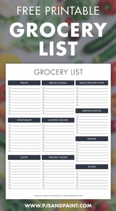 printable shopping grocery free list Free Printable Grocery List Shopping ListYou can find Grocery list printable and more on our website Printable Shopping List, Meal Planner Printable, Shopping List Grocery, Printable Recipe Cards, Grocery List Organizer, Shopping Tips, Template Free, List Template, Diary Template