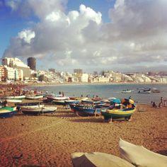 Playa de Las Canteras (foto: Marcel de Waard)