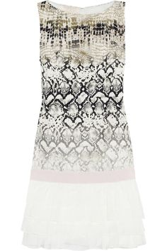 Giambattista Valli | Printed silk mini dress | NET-A-PORTER.COM