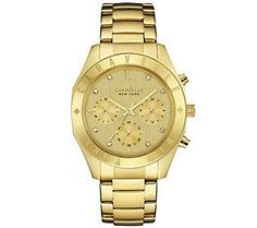 Caravelle New York Goldtone Women's Watch