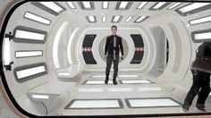 (Click gif) Benedict Cumberbatch, On the set of Star Trek >w< Being FABULOUS~!
