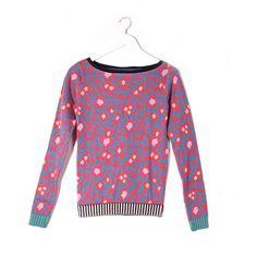 Floral Ceramic Sweater