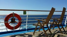 Take a deckchair a #cruise ship the #sun and the open ocean that's all you need to feel #luxury