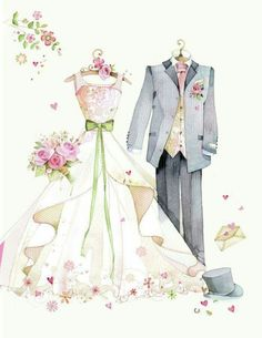 Wedding, Wedding Clipart, Wedding, Wedding Dress PNG Image and Clipart for free Dow . Wedding Drawing, Wedding Art, Wedding Images, Wedding Couples, Wedding Painting, Wedding Ceremony, Dress Png, Wedding Illustration, Fashion Sketches