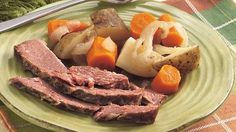 Slow-Cooked Corned Beef Dinner