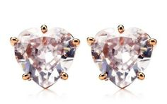 Juicy Couture Jewelry Heart Crystal Earrings Rose Gold New 2013 Juicy Couture. $48.00. Juicy Couture Jewelry Heart Crystal Earrings Rose Gold New 2013