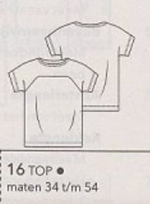 Sewing Patterns - Pattern Reviews for KnipMode Magazine Pattern - 05-2016-16 Top - Sewing & Sewing Pattern Reviews at PatternReview.com